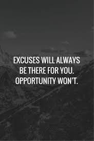 50 Most Motivating Quotes About Excuses