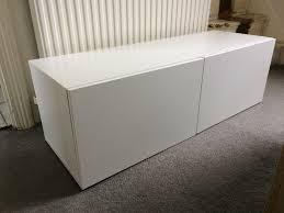 Ikea Besta Shelf Unit With Doors In White In Leytonstone London