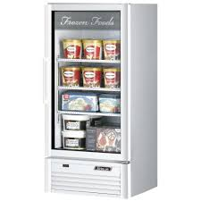 Stand Up Display Freezer Glass Door Freezers Merchandiser Freezers 97