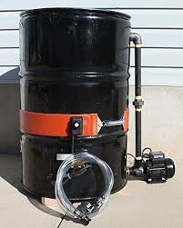 55 gallon water heater. This Can Be Done In A Number Of Ways, But Really Easy Method For Doing It Is To Build Simple Dewatering Tank Using 55 Gallon Drum, Transfer Pump, Water Heater
