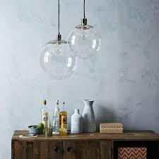 globe pendant clear west elm lighting glass globe pendant light scroll to previous item glass globe globe pendant