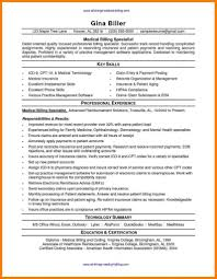 Medical Billing And Coding Resume Sample Resume Example Medical Billing And Coding Resume Sample Resume 46