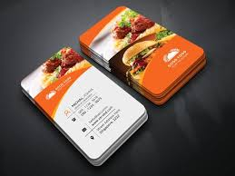 Restaurant Business Cards Card Template Free Marvelous Visiting For