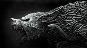 black wolf wallpaper 1920x1080. Simple Black Preview Wallpaper Wolf Teeth Drawing Aggression Black White On Black Wolf Wallpaper 1920x1080 A