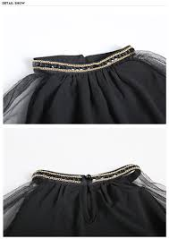 <b>Girls Chiffon Dresses 2019</b> Summer Black Children Clothing Teens ...