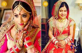 beautiful indian bridal makeup looks traditional punjabi bridal looks