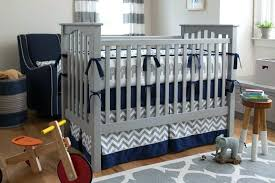 blue and gray baby bedding sets