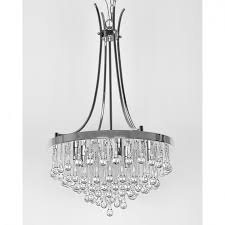 dining room mesmerizing chandelier crystals for home lighting ideas