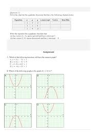 writing quadratic functions in vertex form gallery free form