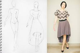 High Low Skirt Pattern Beauteous HighLow Circle Skirt Dress Sewing Project