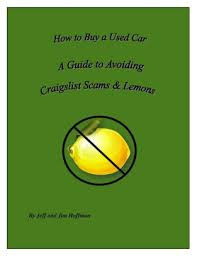 Buy Craigslist A And To Scams Car Used How Avoiding Guide 5Fwgq0FZR