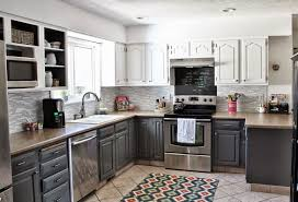 Two Tone Kitchen Cabinet Kitchen Cabinets New Two Tone Kitchen Cabinets Two Tone Kitchen