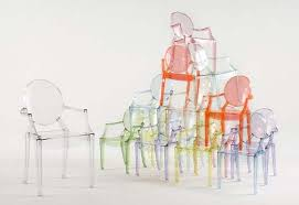 philippe starck louis ghost chair. capitalizing on a good thing, the ghost chair is now being made in \ philippe starck louis