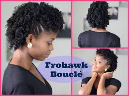 Coiffure Cheveux Cr Pus Frohawk Boucl Youtube