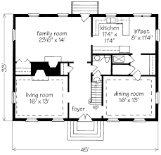 superb simple 2 story house plans 1 back gallery for simple two story house plan