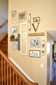 amazing rustic country wall frieze art collections debonair rural vintage inspired staircase gallery farmhouse ideas gether with funky model primitive