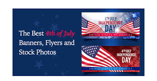 Flyers Theme The Best 4th Of July Banners Flyers And Stock Photos Gt3