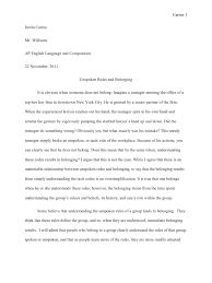 essay on belonging belonging essay peter skrzynecki mary street an  belonging essay on looking for alibrandi and into the wild