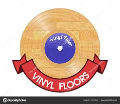vinyl floor as vinyl record with red ribbon photo by lobo 71 seznam cz