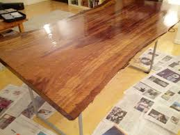 Redwood Slab Dining Table Slab To Table In Seven Days