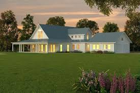 plans modern one story farmhouse plans beds baths split level country home