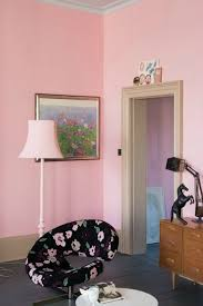 pink wall paintThe Perfect Pink Paint  Project Nursery