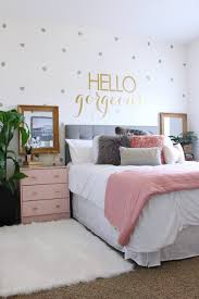 Image result for grey white and pink bedroom | malia room ideas ...