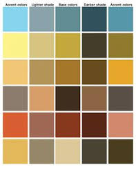 Simply Rustic Color scheme by Siri Fjrtoft, via Flickr