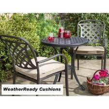 garden set. Wonderful Garden Hartman Berkeley Bistro Set Weatherready Cushions BronzeDune With Garden R