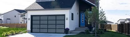black garage doorsAluminum Glass Garage Doors 8850