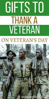 gifts to thank a veteran on veteran s day