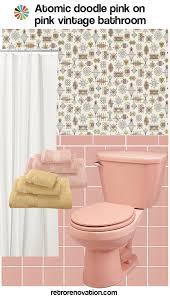 bathroom tiles wallpaper. Decorating An All Pink Tile Bathroom Taking Color Combo Inspiration From Wallpaper: Tiles Wallpaper O
