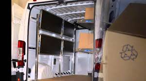 Fold Up Shelf Foldable Van Shelving By Ranger Design Old Youtube