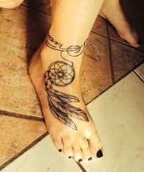 Dream Catcher Ankle Tattoos dream catcher ankle Tattoos Pinterest Dream catchers 1