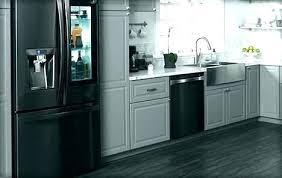 samsung black stainless fridge. Samsung Black Stainless Steel Refrigerator Fridge . L