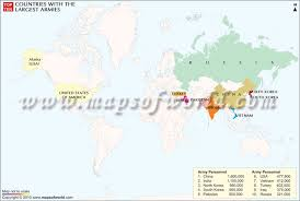 Top Charts 2010 Usa Largest Armies In The World Maps Charts Pinterest