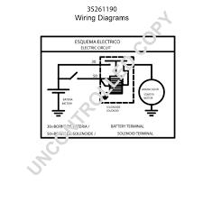 leece neville 35261190 wiring diagram