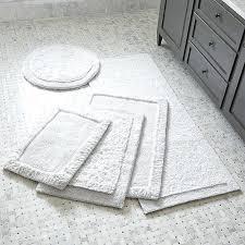 ultra spa white bath rugs crate and barrel bathroom essentials rug grey yellow