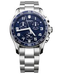 victorinox swiss army watch men s chronograph stainless steel victorinox swiss army watch men s chronograph stainless steel bracelet 241497 watches jewelry watches macy s