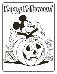 Small Picture Halloween Coloring Page Preschool Coloring Page