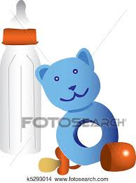 Baby Things Clipart Clipart Of Illustrated Baby Things K5293014 Search Clip Art