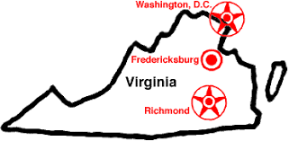 Image result for battle of richmond map