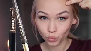 брови для блондинок как подобрать красивый цвет бровей фото