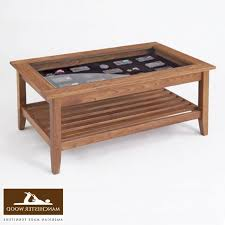 permalink to interesting glass top wooden coffee table