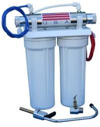 water filter system. Double Undercounter Ultraviolet Water Purification System Filter D