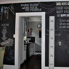 black chalkboard paint for empty walls