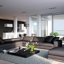 Living Room Contemporary Modern Grey Living Room Design Home Interior Design Living Room