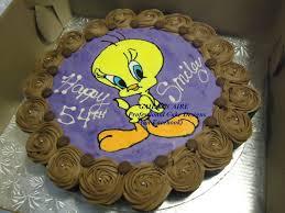Tweety Bird Cake Designs Tweety Bird Cake Cupcake Tear Away I Made An Icing Sheet