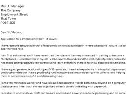 Phlebotomy Cover Letter Mamiihondenk Org