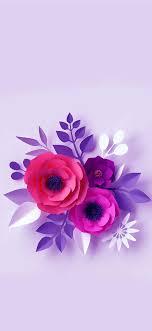 Iphone Flower Violet Wallpaper
